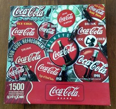 "2005 Springbok Coca-Cola Puzzle 1500 Pcs, 28.75"" x 36"" - $21.51"