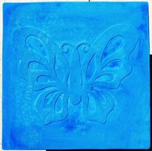 "Butterfly Stepping Stone Concrete Mold 18x18x2"" Make for $3 Each Ships Fast Free image 7"