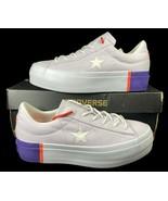 Converse One Star Platform Ox Lift Sneaker 559902C Light Purple 559902C ... - $59.95