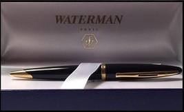 Waterman Carene Black Gold Trim Ballpoint Pen - $109.99
