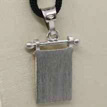 SOLID 925 STERLING SILVER PENDANT WITH NAUTICAL FLAG, LETTER M, ENAMEL, CHARM image 3