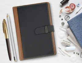 A5 or 5.8 * 8.3 inches Notebook Diary with PU Leather   FREE SHIP - $19.79