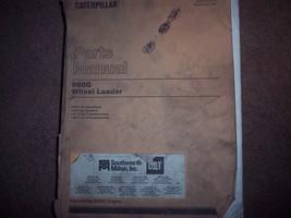 CATERPILLAR  CAT PARTS  MANUAL 980G       FREE SHIPPING  - $98.99