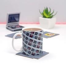 NES Game Controller Console Mosaic Images 10 oz Ceramic Mug NEW UNUSED B... - $9.74