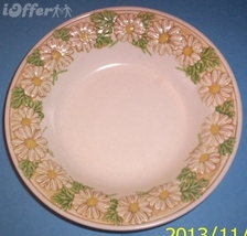 "CALIFORNIA--METLOX (POPPY TRAIL) SCULPTURED DAISY CEREAL BOWL 8 5/8"" - $10.95"