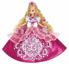 New! Licca chan Doll Dreaming Princess Pink Glitter Takara Tomy Japan F/S - $70.11