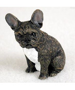 FRENCHIE FRENCH BULLDOG TINY ONES DOG Figurine Statue Pet Lovers Gift Resin - $8.99