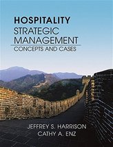Hospitality Strategic Management: Concepts and Cases [Apr 01, 2004] Harr... - $32.99