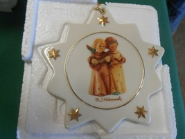 NEW-Beautiful M.J. HUMMEL Christmas Tree Ornaments #1....FREE POSTAGE USA - $14.44