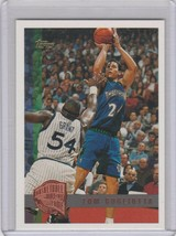 1997-98 Topps Minted in Springfield Basketball Card #89 Tom Gugliotta - $1.00