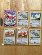 Spearow Pokemon LOT W/Topps  #21 1999 RARE never played US FREE Shipping - $8.57