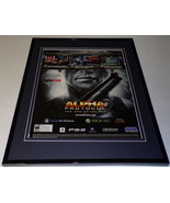 Alpha Protocol 2009 XBox PS3 Framed 11x14 ORIGINAL Advertisement - $34.64