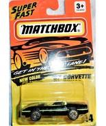 1994 Matchbox Super Fast '87 Corvette Collector #14 Mint On Original Sea... - $4.00