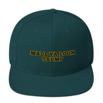 Made Ya Look Trump / Made Ya Look Snapback Hat image 7