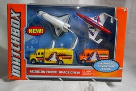 2012 Matchbox Mission Force Space Crew Skybusters 4 Piece Playset - $19.99