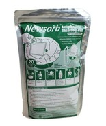 Newstone Absorbent Pad Antimicrobial Deodorant 20 Count For Commode Pails - $19.59