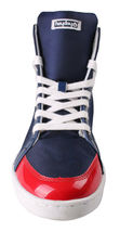 Heyday Shift Lite Core Blue Nylon Red Patent Leather Hi Top Shoes 10US 43 NIB image 6