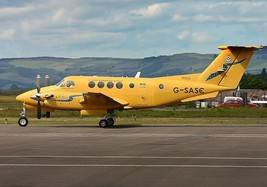 1/144 scale Resin Model Kit Beech King Air Scottish Ambulance Service - $19.00
