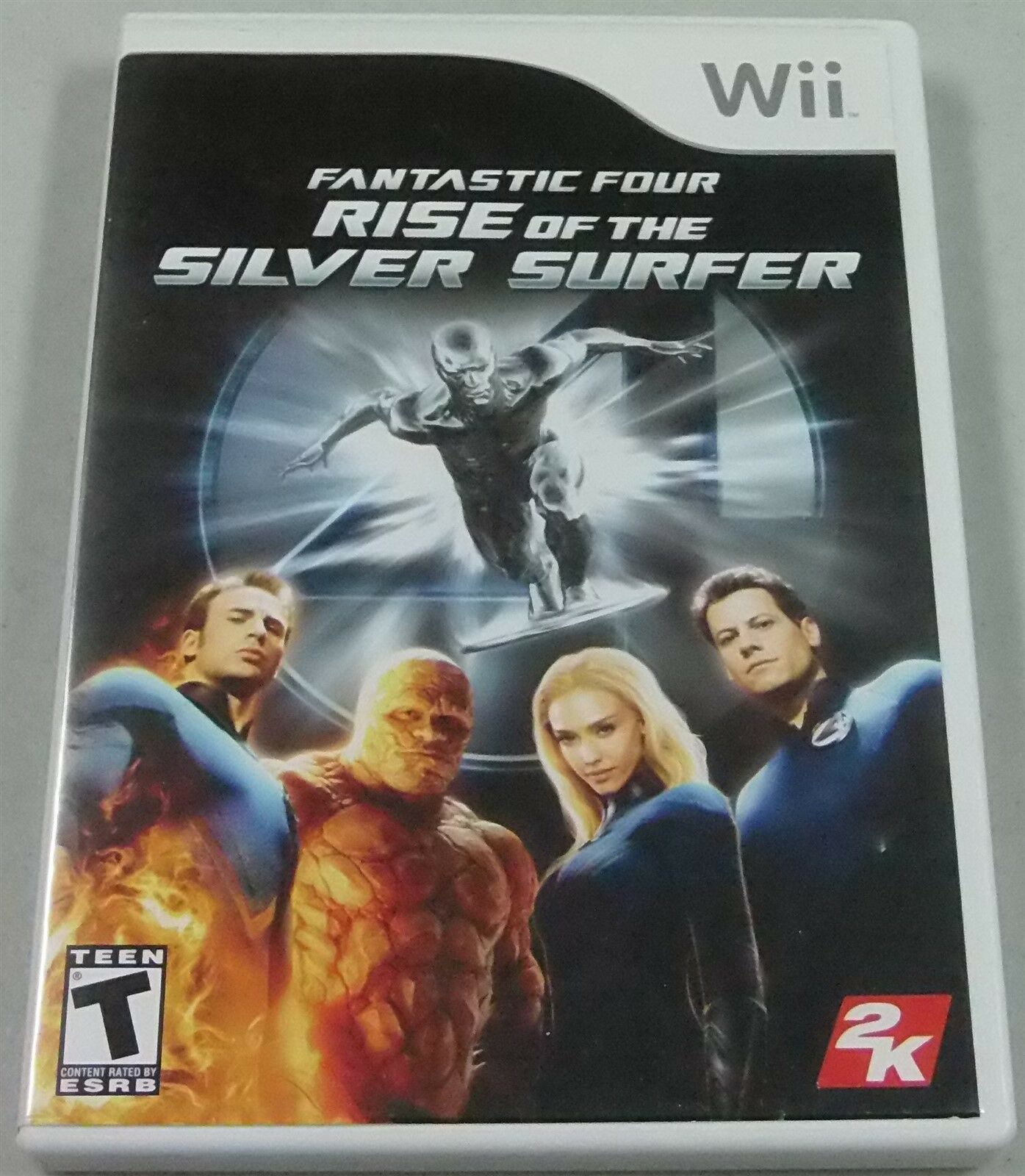 Primary image for Fantástico 4 : Rise Of The Plata Surfer (Nintendo Wii, 2007)