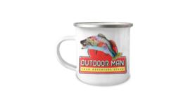 Outdoor Man Your Adventure Store Break Room Inspired 12oz Camper Mug - $17.95