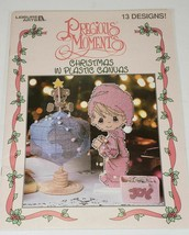 Precious Moments Christmas in Plastic Canvas, Leisure Arts, 1998 - $9.99
