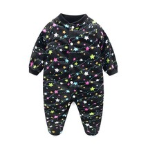 Unisex Baby Clothes Baby Boy Girl Footed Rompers Infant Animal Baby Romp... - $16.49