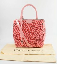 Louis Vuitton Monogram Vernis Jungle Dots Sugar Pink Poppy Limited Edition Tote - $2,227.50