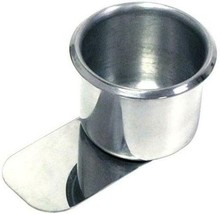 Brybelly Slide-Under Stainless Steel Game Table Cup Holder - Size Small ... - $13.05