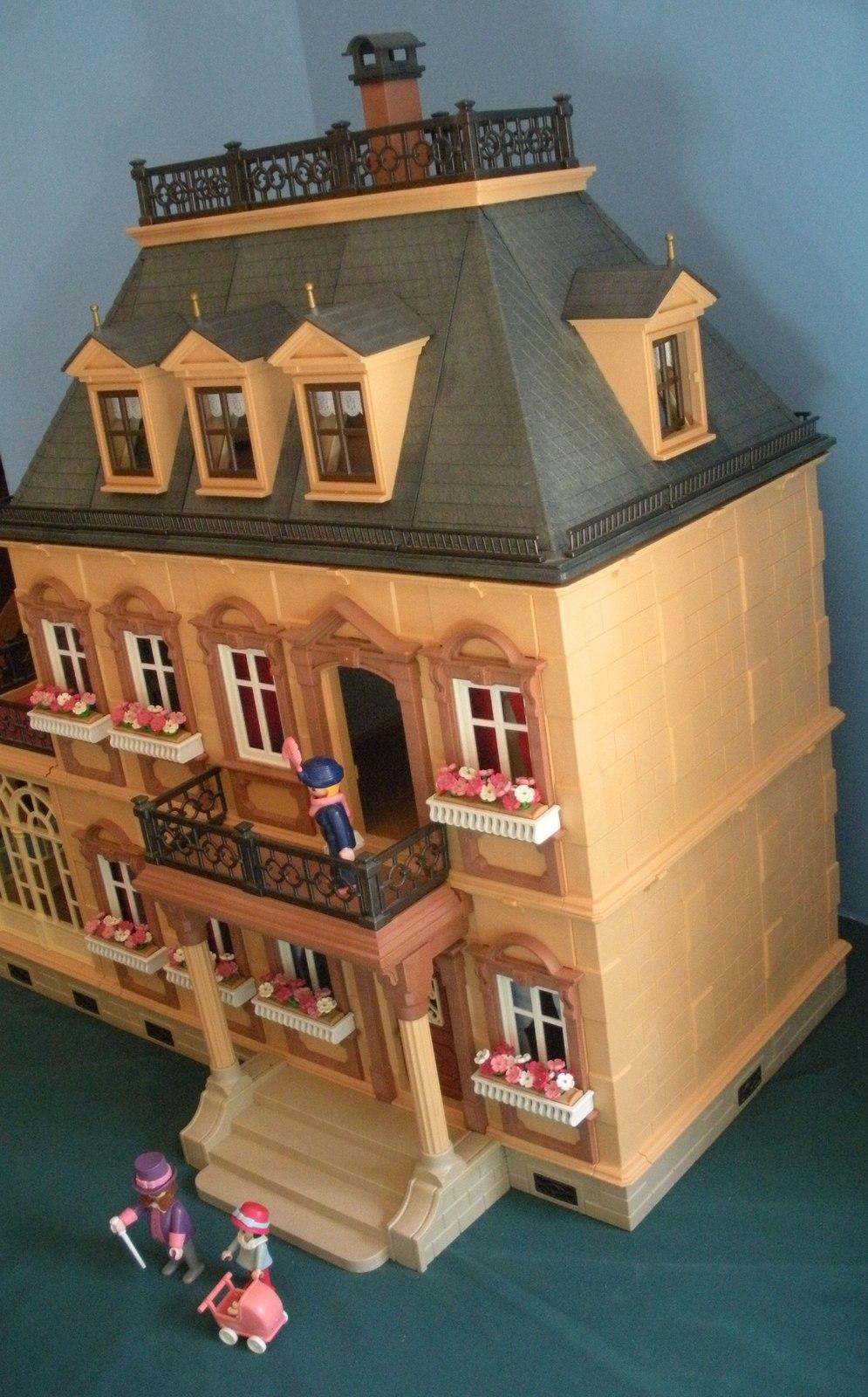 Vtg. Playmobil #5300 Victorian Mansion 99.9% Complete/NR MINT-MINT ! (I)