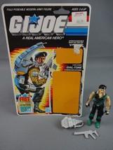 Vintage GI JOE Action Figure 1986 Dial-Tone 100% w Full Cardback - $13.28