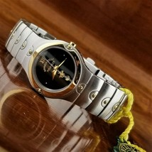 New Vintage Womens POLO Museum SE Gold Plated & Stainless Steel Watch - $95.00