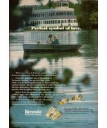 1980 Keepsake Jewelry Diamond Engagement Ring Boat Vintage Print Ad 1980s - $7.92