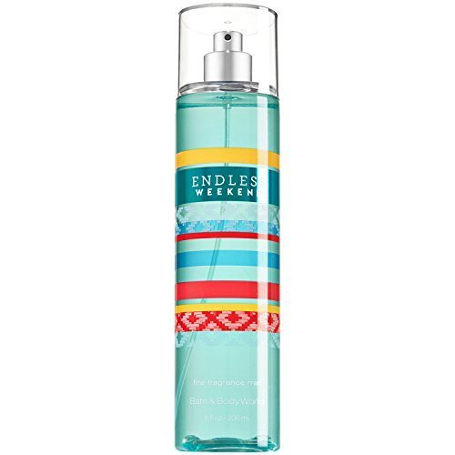Bath and Body Works Endless Weekend Body Fine Fragrance Mist 8 Ounce Full Size