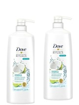 Pack of 2 Dove Nutritive Solutions Conditioner Pump Coconut And Hydration 40 Oz - $24.97
