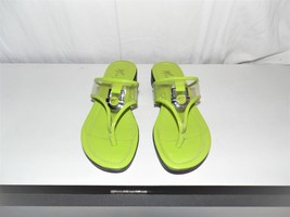 Marc Fisher Green Logo PVC Top ARock2 Sandals 6M - $24.75
