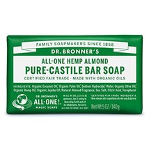 Dr. Bronner's - Pure-Castile Bar Soap Almond, 5 ounce - Made with Organi... - $9.22