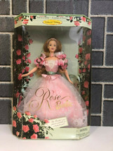 ROSE BARBIE 1998 COLLECTOR EDITION FIRST IN A SERIES A GARDEN OF FLOWERS... - $19.80