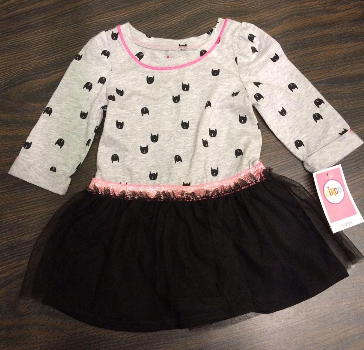 e886430d6 NWT Circo Cats Tutu Tulle Black Skirt Dress and 34 similar items. S l1600