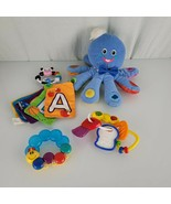 Baby Einstein Octopus Stuffed Plush Toy English Spanish French Colors Se... - $34.64