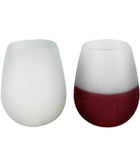 Southern Homewares Silicone Wine Glasses, Set of 2 - $283,10 MXN
