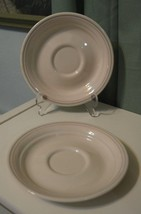"Lot 2 replacement Vintage Corelle Corner Stone Spring pond saucer plate 6"" - $16.80"