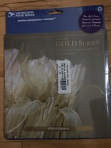 Our Wedding - USPS Gold Series 2006 First Day Postmark Collection w/2 stamps-NEW - $9.00