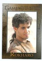 Game of Thrones trading card #65 2013 Rokharo - $4.00