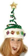 Kunstpelz Funkelnd Springy Weihnachtsbaum Hut Geschenke Stern Urlaub Party - €20,68 EUR