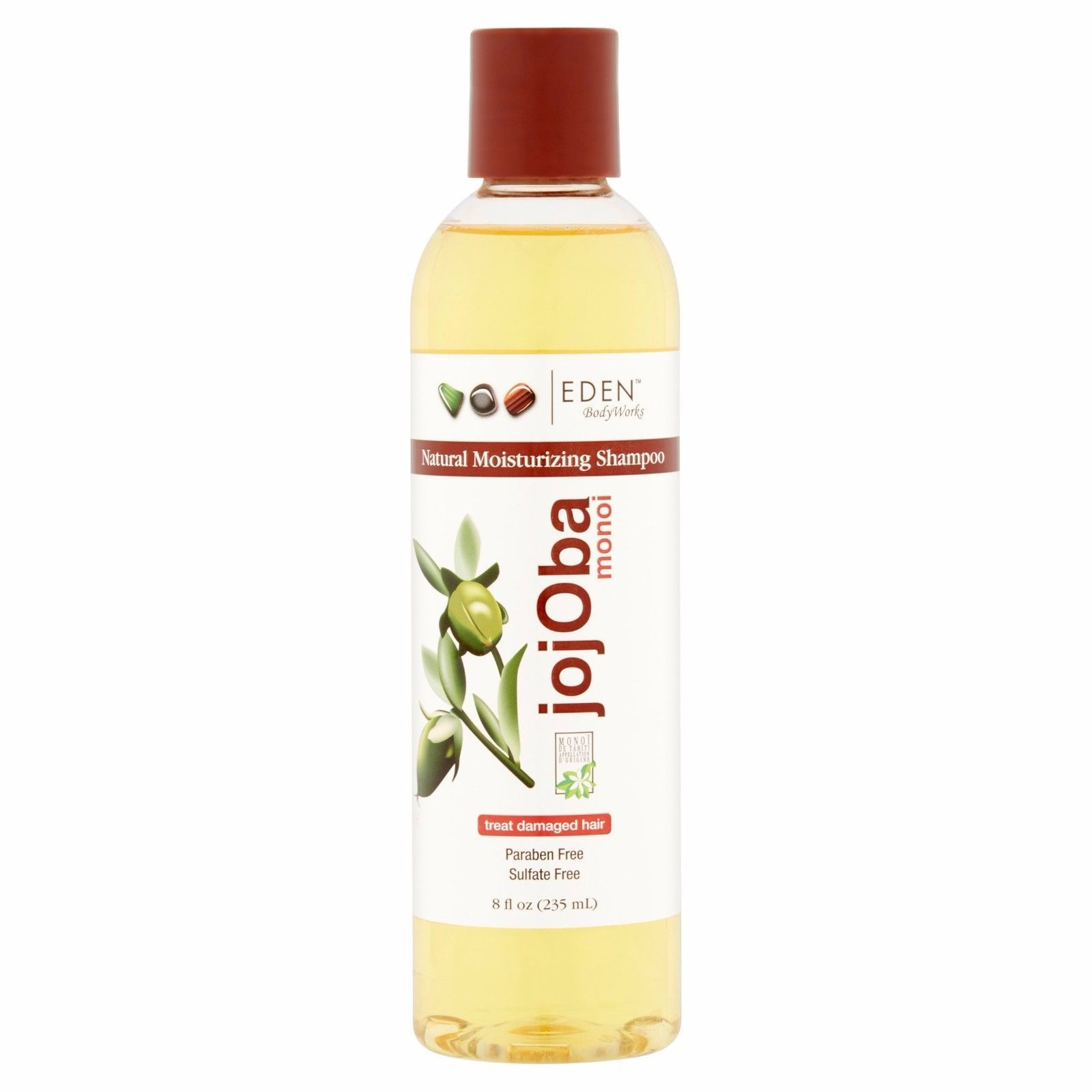 Eden Body Works All Natural Jojoba Monoi Shampoo 8oz