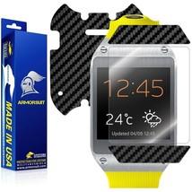 ArmorSuit MilitaryShield Samsung Galaxy Gear Screen + Black Carbon Fiber Skin - $29.99