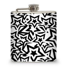 6 oz Stars Hip Flask - $15.44
