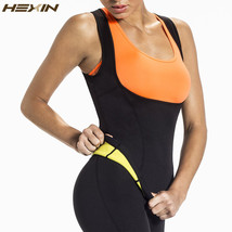 HEXIN Plus Size Neoprene Sweat Sauna Hot Body Shapers Vest Waist Trainer... - $17.20