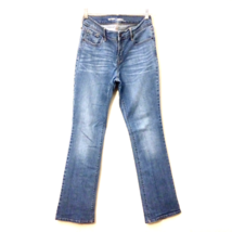 OLD NAVY DIVA womens jeans 4x31 blue mid rise boot cut leg stretch denim... - $39.99