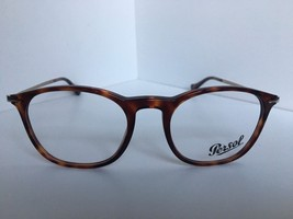f4a71690886dc New Persol 3124-V 24 Tortoise 50mm Rx Eyeglasses Frame Hand Made in Italy -